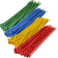 dây rút nhựa màu
